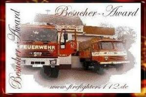Award von den Firefighters112 (09/2008)